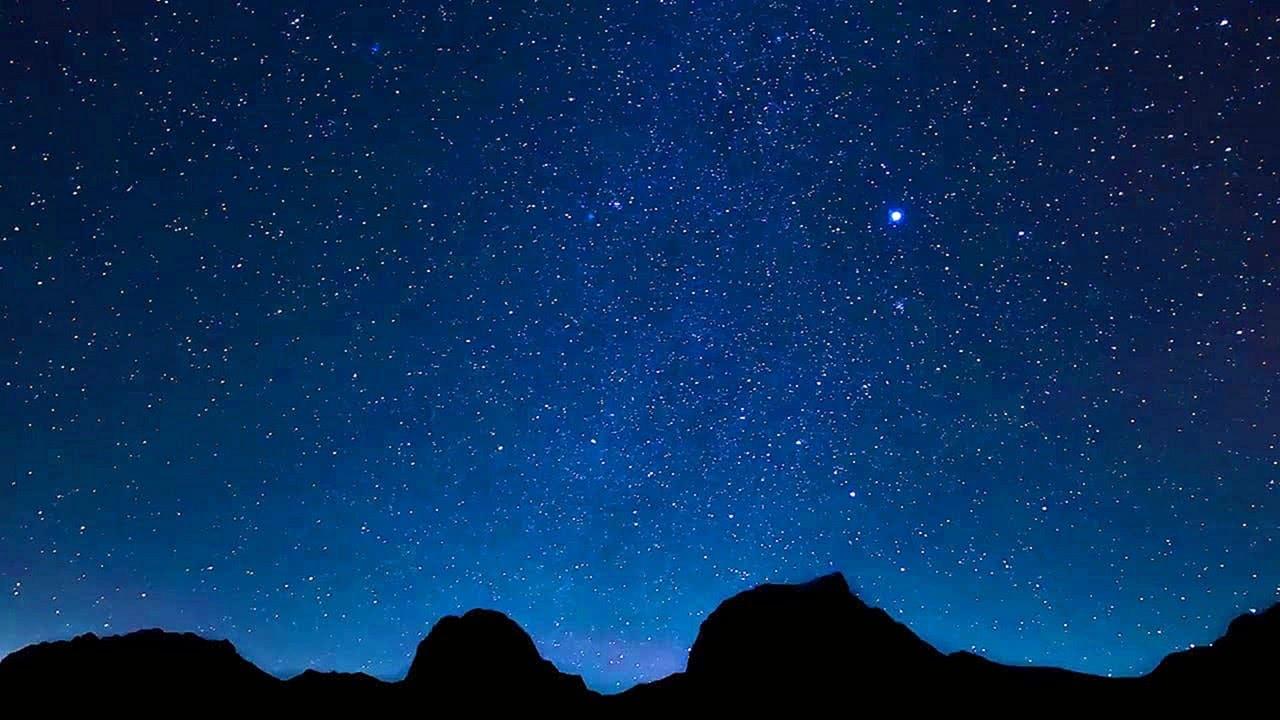Night Sky Full of Stars 4K Screensaver