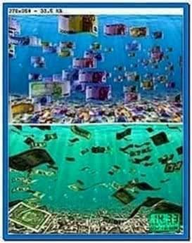 100 Happy Money 3D Screensaver 2.33
