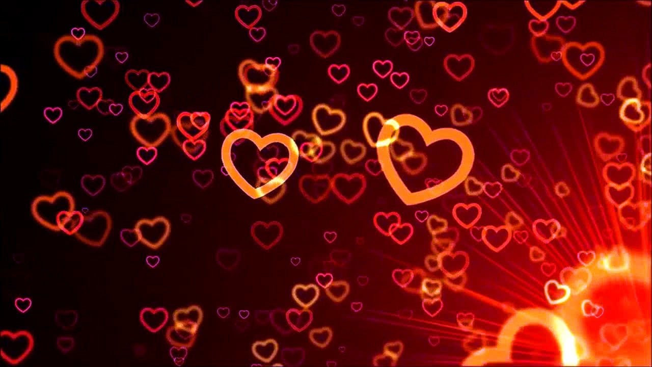 Colorful Hearts & Romance Valentine's Day Screensaver