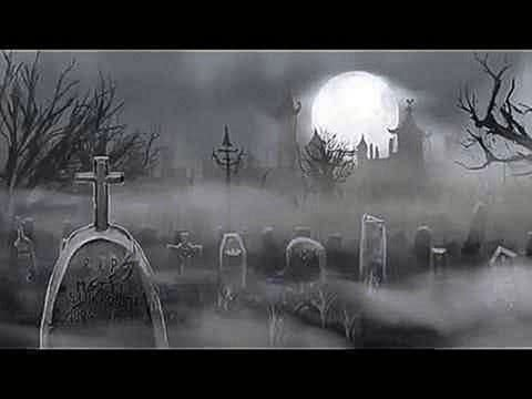 HALLOWEEN MUSIC, CREEPY SOUNDS & GRAVEYARD SCREENSAVER