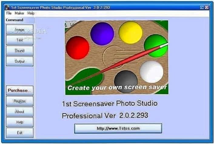 1st Screensaver Photo Studio