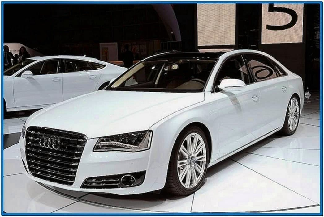 2020 Audi A8 Screensaver