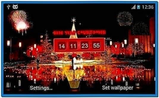 2020 Countdown Screensaver