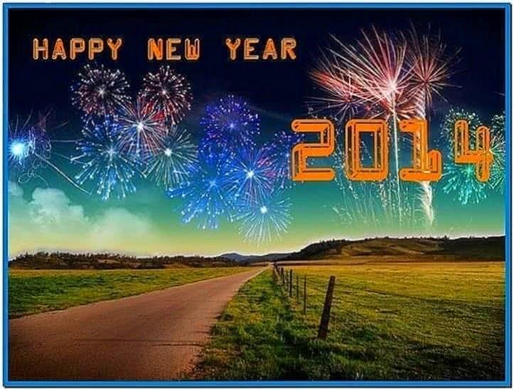 2020 Happy New Year Screensaver