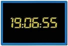 24 TV Show Clock Screensaver