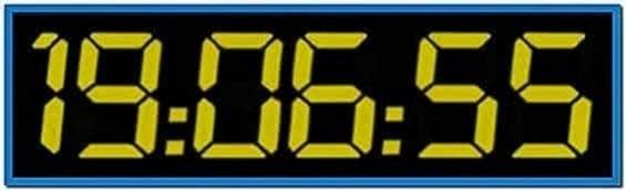 24 TV Show Screensaver Clock Countdown