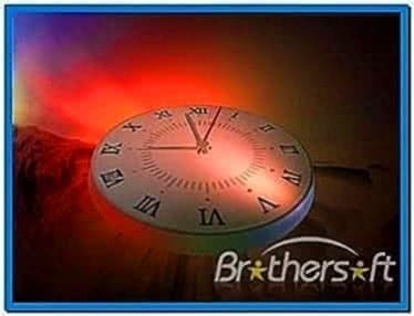 3D Analog Clock II Screensaver 2.12