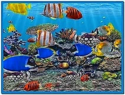 3D Animated Fish Screensaver