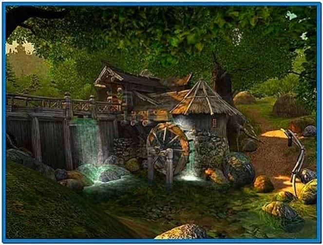 3D Animated Waterfalls Screensaver