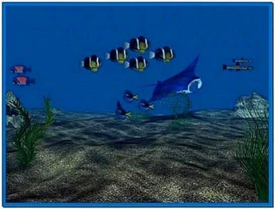 3D Aqua Screensaver 2.85