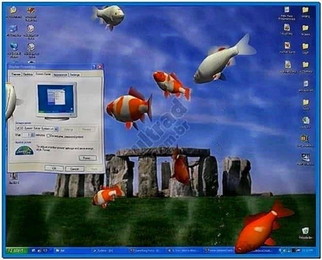 3D Aquarium Screensaver for TV