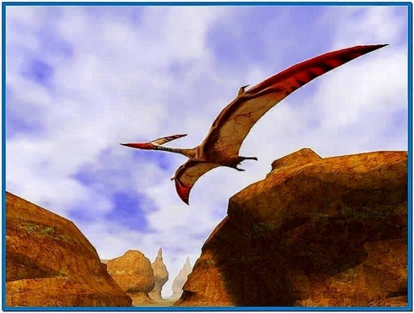 3D Canyon Flight Screensaver 1.0