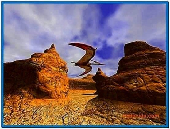 3D Canyon Flight Screensaver 2.0