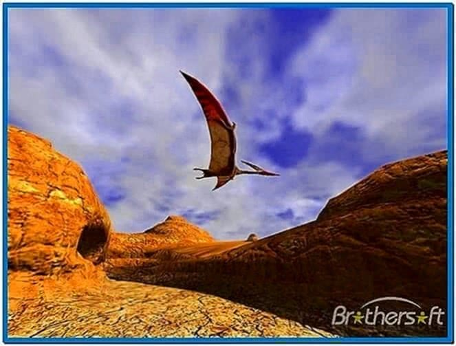 3D Canyon Flight Screensaver Digital Minds