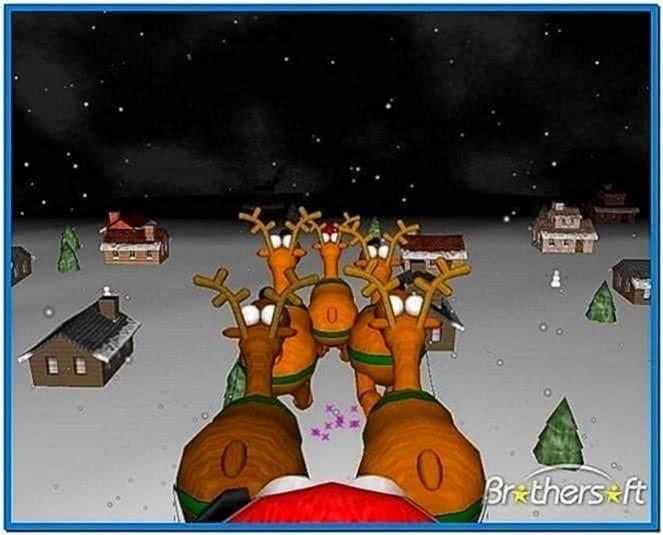 3D Christmas Screensavers Mac