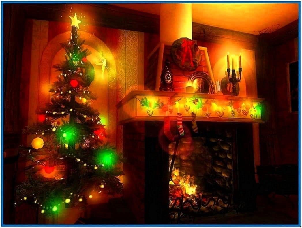 3D Christmas Screensavers With Music