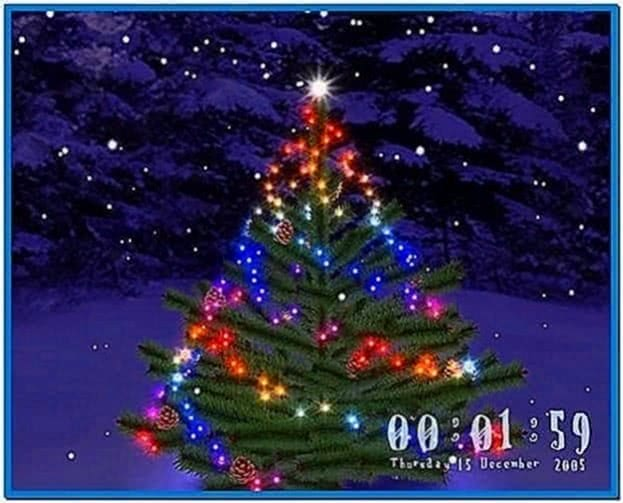 3D Christmas Tree Screensaver Software