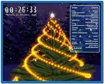 3D Christmas Tree Screensavers