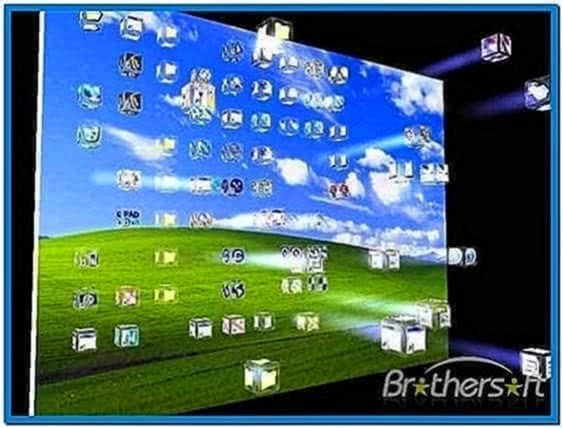 3D Crash Icons Screensaver 1.1