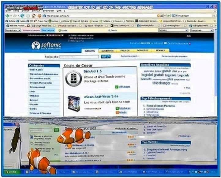 3D Desktop Aquarium Screensaver 1.1