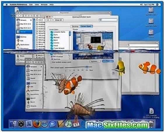 3D Desktop Aquarium Screensaver 1.8