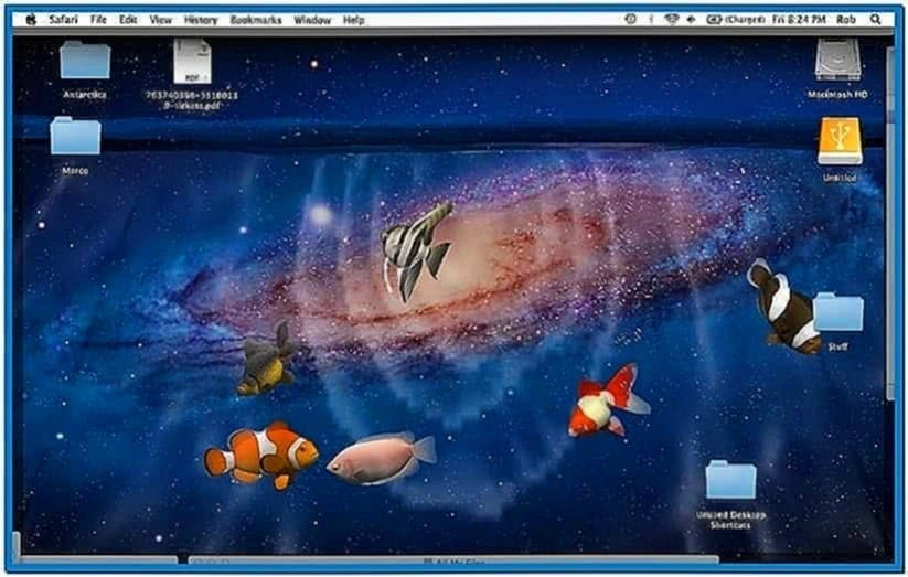 3D Desktop Aquarium Screensaver 1.9 Mac OS X