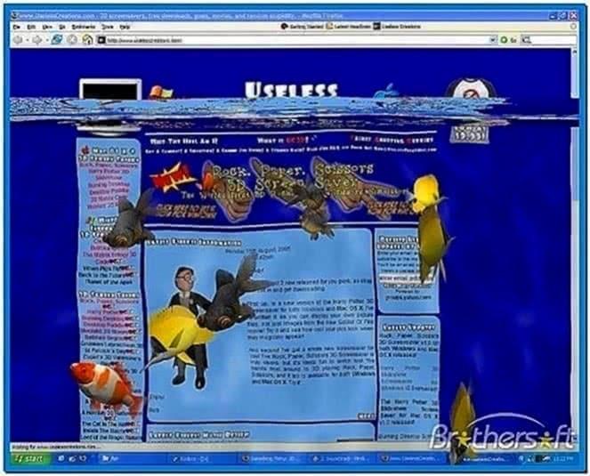 3D Desktop Aquarium Screensaver for PC