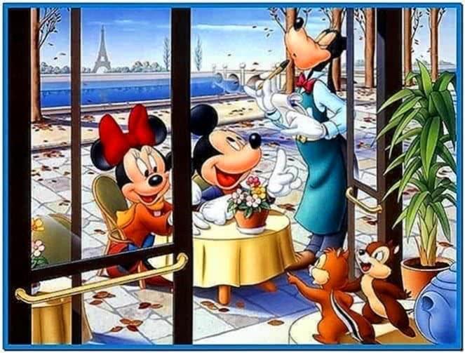 3D Disney Screensavers