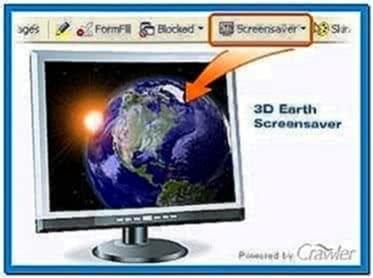 3D Earth Screensaver 4.5