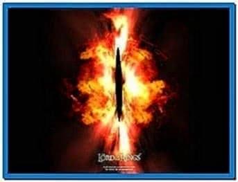 3D Eye of Sauron Screensaver