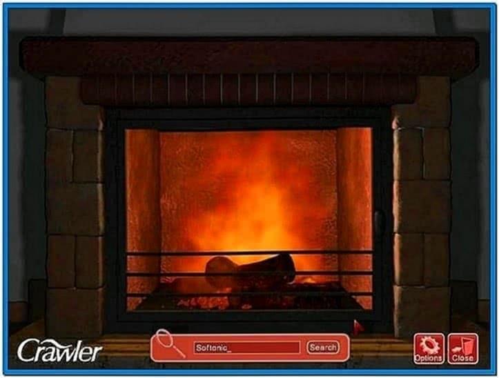 3D Fireplace Screensavers Mac
