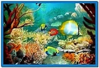 3D Fish School Screensaver 4.8