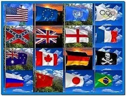 3D Flag Screensaver Freeware