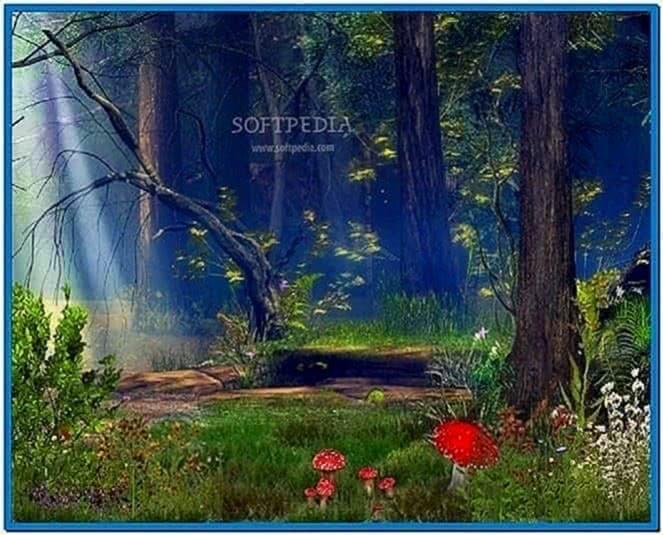 3D Forest Screensaver
