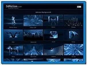 3d fractal hd video screensaver
