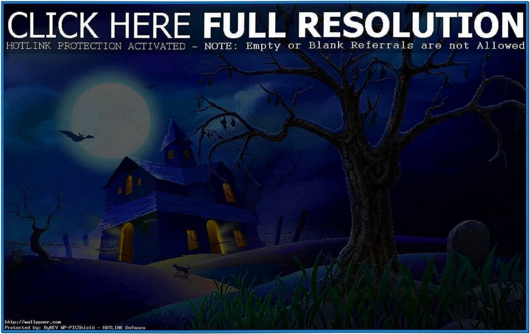 3D Halloween Screensavers Desktop