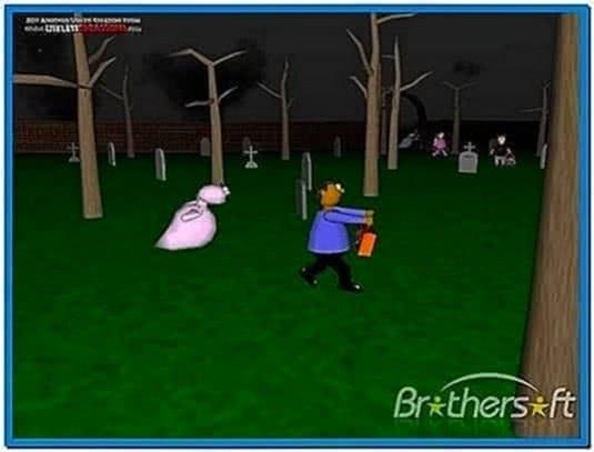 3D Halloween Screensavers Mac