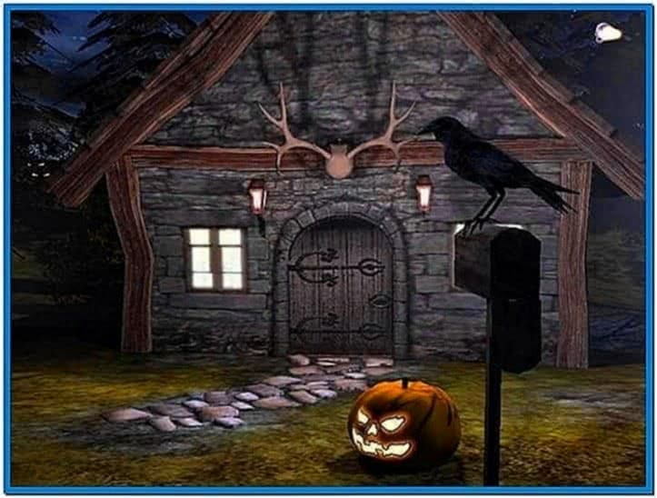 3D Halloween Screensavers Windows 7
