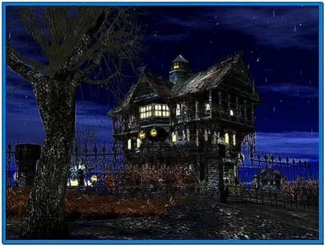 3D Haunted Halloween Screensaver