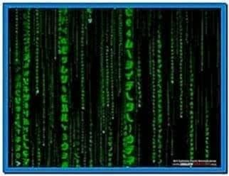3D Matrix Code Screensaver Mac OS X