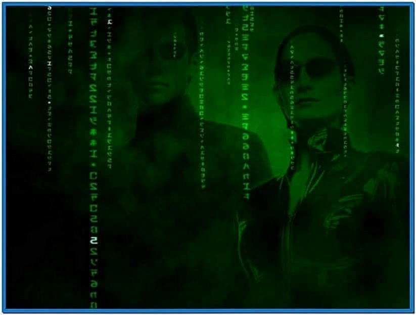 3D Matrix Screensaver Inside The Matrix 1.3