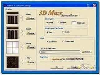 3d maze screensaver 2.0