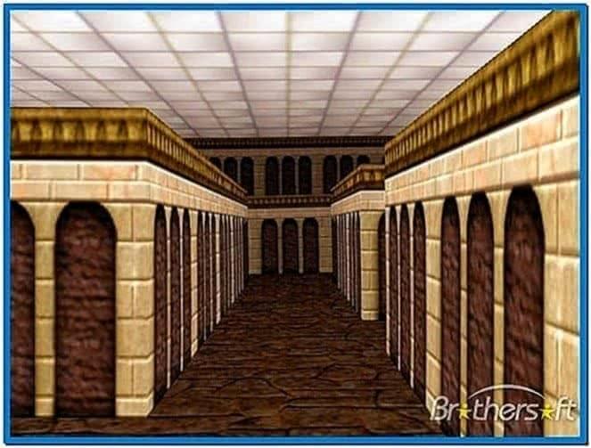 3D Maze Screensaver Mac