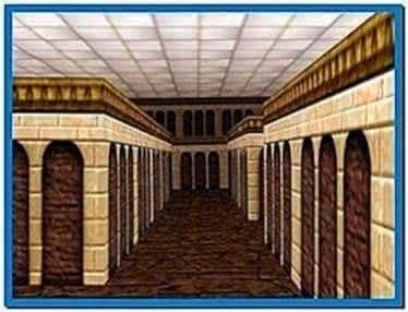 3D Maze Screensaver Windows Vista