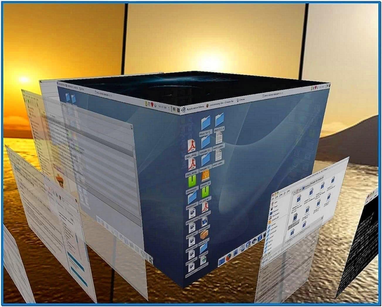 3d maze screensaver Windows vista