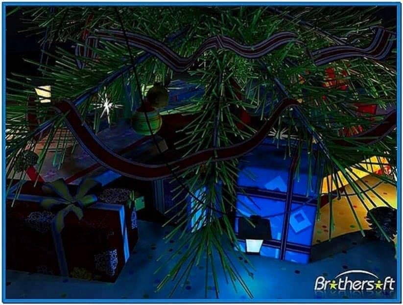 3d merry christmas screensaver 1.0