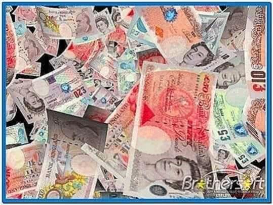 3D Money Screensaver Mac