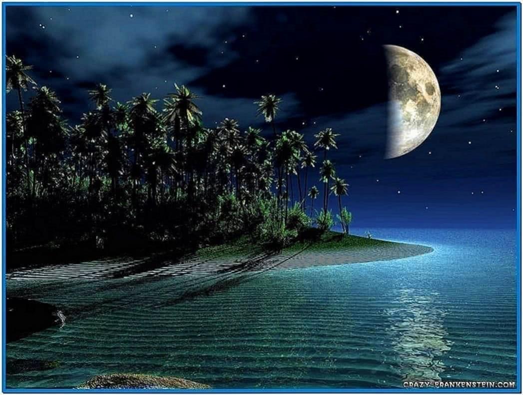 3D Moon Screensaver Themes