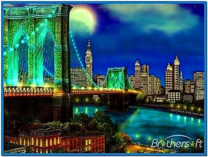 3D New York City Screensaver