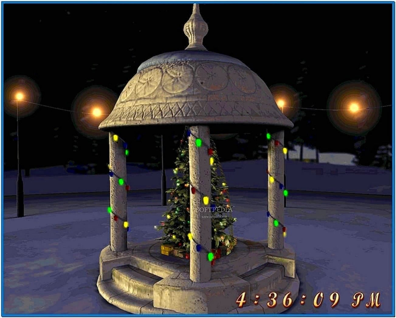 3D Night Before Christmas Screensaver